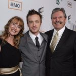 Aaron Paul with his Parents