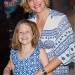Actress Anna Gunn (R) and daughter Emma Gunn Duncan