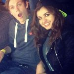 Casper Lee with Rebecca Black