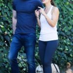 Chris Evans and Minka Kelly