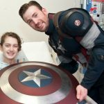 Chris Evans in Boston Children Hospital