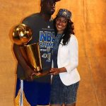 Draymond green with girlfriend Jelissa Hardy