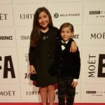 Jacob Tremblay with his elder Sister Emma
