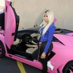 Nicki Minaj Pink Lamborghini