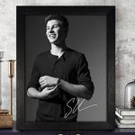 Shawn Mendes autographed Poster