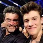 Shawn Mendes with his father