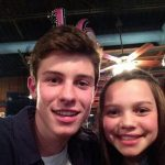Shawn with Aaliyah Mendes