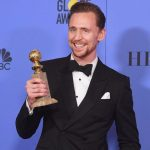 Tom with his Golden Globe Award