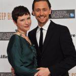 Tom Hiddleston with his sister Sarah Hiddleston
