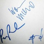 Wagner Moura signature