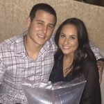 Anthony Rizzo with his girlfriend Emily