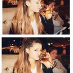 Ariana Grande Drinking Alcohol