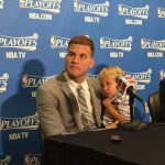 Blake Griffin with his son