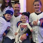 David Ross with his children