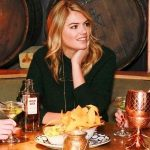 Kate Upton drinking alcohol