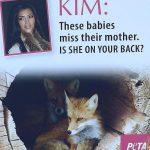 Kim Kardashian - PETA