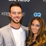 Kris Bryant with his wife