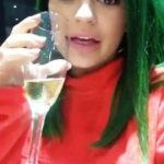 Kylie Jenner drinking