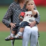 Posey's Mother with her grandson