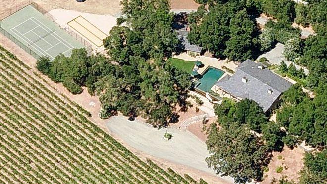 Nancy Pelosi's vineyard