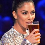 Nicole-Scherzinger drinking alcohol