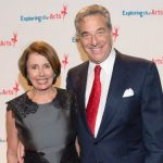 Nancy Pelosi with her husband Paul Pelosi