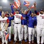 Puerto Rican National Baseball Team at World Baseball Classic 2017