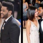 Weeknd with Selena Gomez