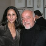 Paulo Coelho with his sister Sonia Coelho
