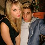 Ashley Benson with Justin Thorne