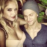 Ashley Benson with Keegan Allen