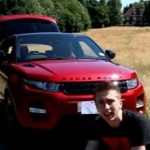 Miniminter with his car
