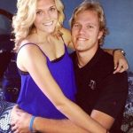 Noah Syndergaard with his girlfriend Ellen