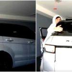 Ricegum with his car