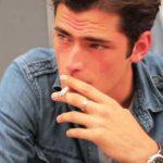 Sean OPry smoking