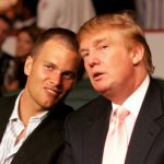 Tom Brady and Donald Trump together