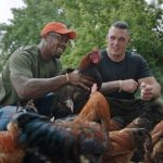 Von Miller in his Poultry farm