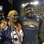 Von Miller with his mother
