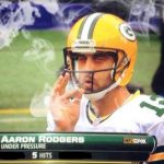 Aaron Rodgers smoking weed