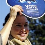 Ashley Judd Campaigning For Barack Obama