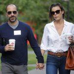 Dara Khosrowshahi With His Wife Sydney Shapiro