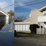 Fats Domino home in New Orleans, Louisiana after flood