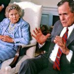 George H W Bush With His Mother Dorothy (Walker) Bush