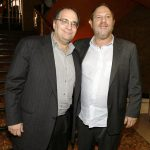 Bob Weinstein (Left) With His Elder Brother Harvey Weinstein