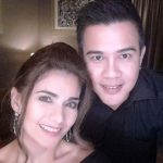 Isabel Granada with her husband Arnel Cowley