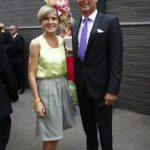 Julie Bishop and David Panton