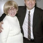 Kevin Spacey with his mother