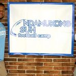 Ndamukong Suh with his sister Ngum Suh