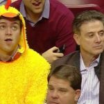 Rick Pitino With His Son Ryan Pitino (Left)