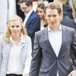 Sebastian Kurz with Susanne Thier